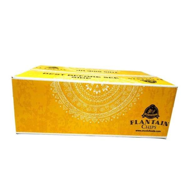 Olu Olu Plantain Chips Box