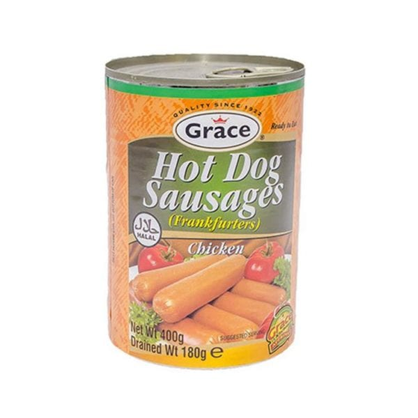 Grace Hot Dog Sausages