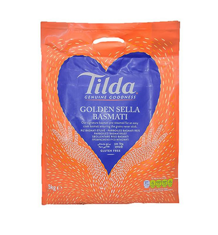 Tilda Golden Sella Rice 5kg