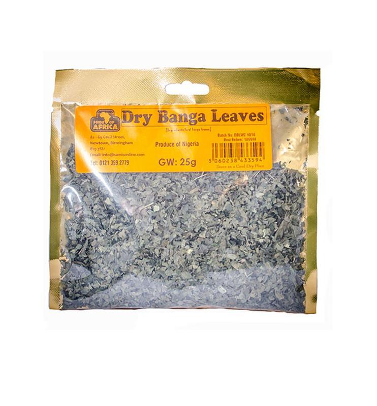 Dry Banga Leaves